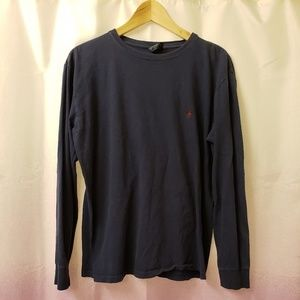 Vintage 90s classic polo long sleeve shirt size S